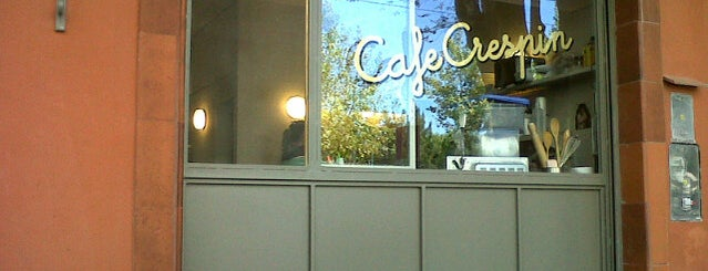 Café Crespín is one of Brunch & Lunch.
