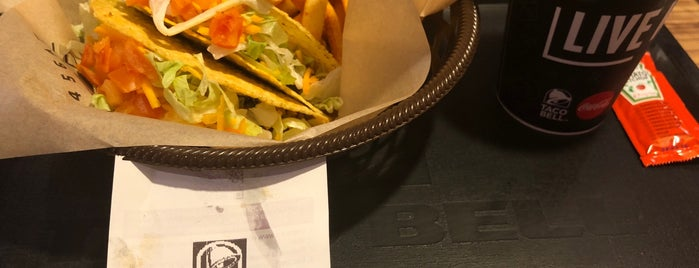Taco Bell is one of สถานที่ที่ Miguel ถูกใจ.