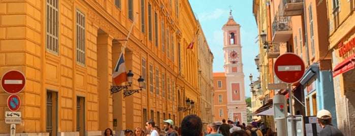 Vieux Nice is one of Lieux sauvegardés par P.
