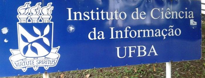 ICI/UFBA - Instituto de Ciência da Informação is one of Locais curtidos por 📳 Laila.