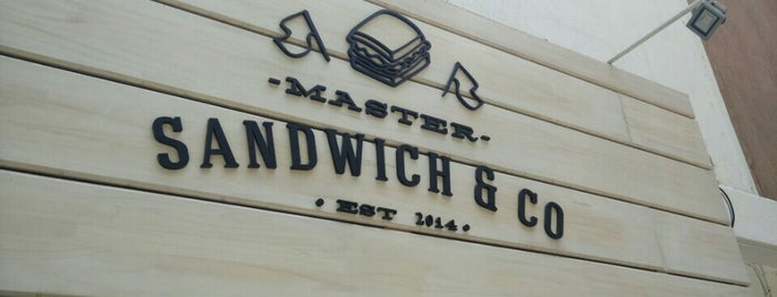Master Sandwich & Co is one of Lugares guardados de Daniela.