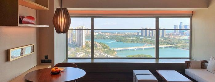 Hyatt Regency Xiamen Wuyuanwan is one of Hotels.
