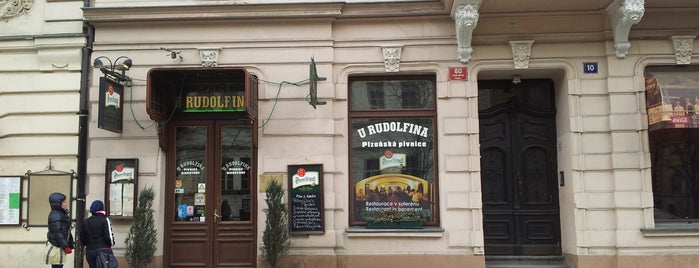 U Rudolfina is one of Prague.