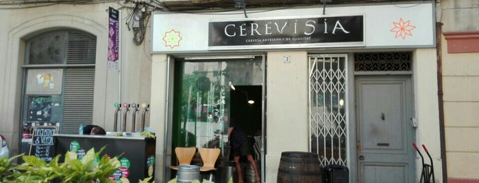 Cerevisia is one of llocs de valls on menjar, prendre un cafè o copa.