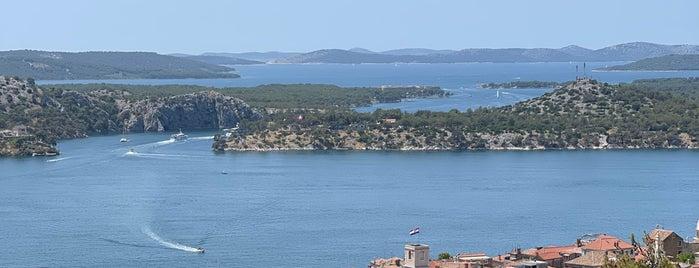 Fort Barone is one of Sibenik 🦋.