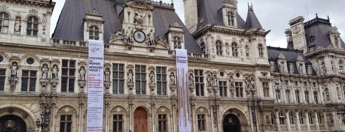 """Hôtel de Ville de Paris is one of Le parcours """"Pass Jeunes""""."""