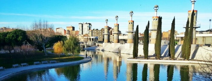 Parc de l'Espanya Industrial is one of my favorite.