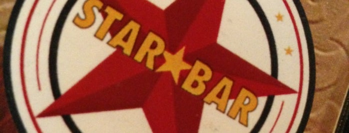 Star Bar is one of Drew's favorites.