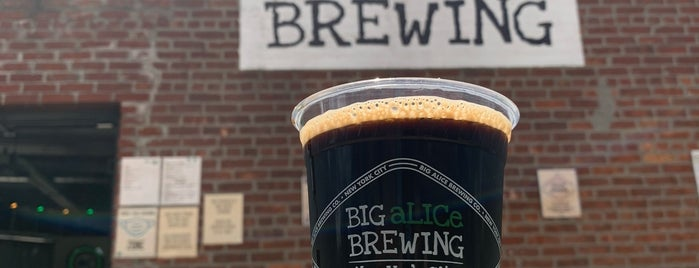Big Alice Brewing is one of Breweries of NYC.