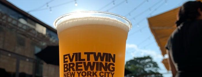 Evil Twin Brewing NYC is one of Locais curtidos por Erik.