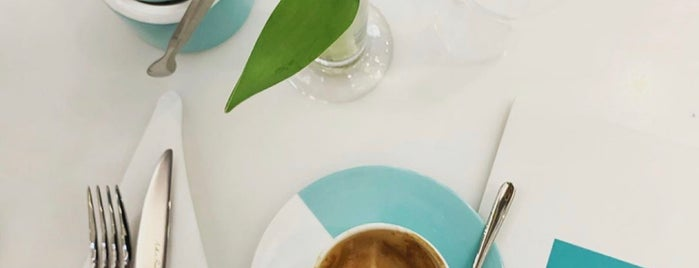 The Tiffany Blue Box Cafe is one of London 2020.
