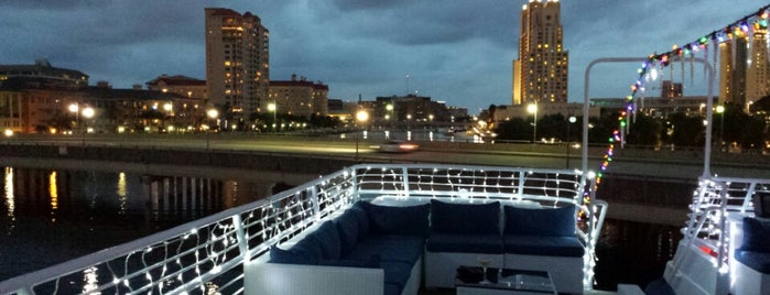 Yacht StarShip Dining Cruises is one of Hidden Treasures of Tampa Bay.