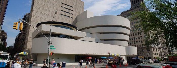 Solomon R Guggenheim Museum is one of New York City.