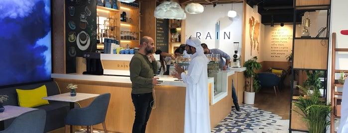 Rain Café is one of Lugares favoritos de Marwan.