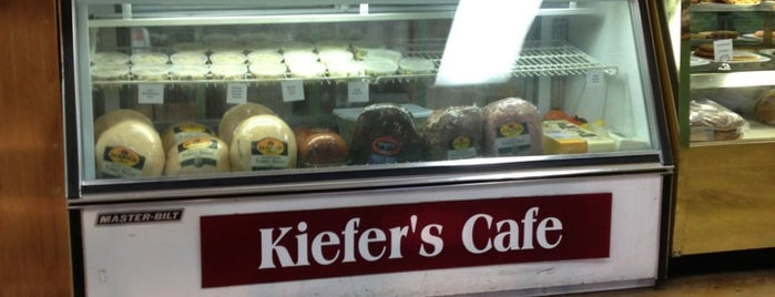 Kiefer's Cafe & Catering is one of Places to Eat.