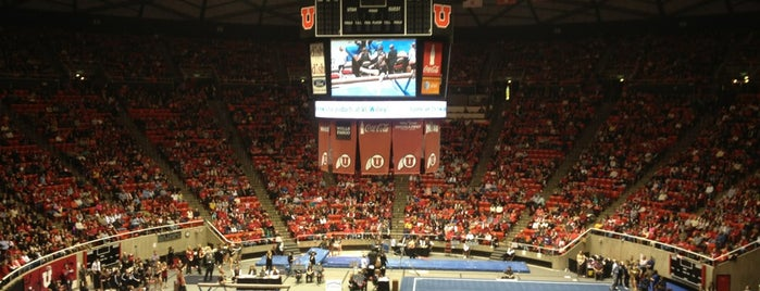 Jon M. Huntsman Center is one of NCAA Division I Basketball Arenas Part Deaux.