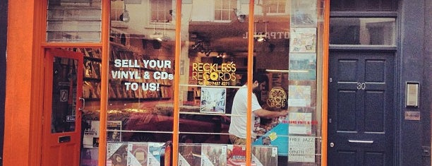 Reckless Records is one of London Records.