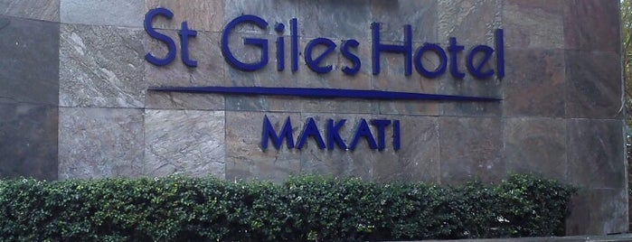 St Giles Hotel is one of Makati City.