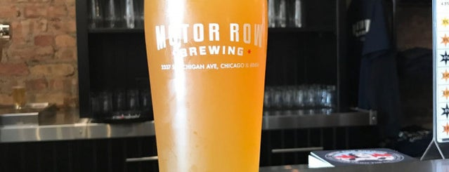Motor Row Brewing is one of Chicago area breweries.