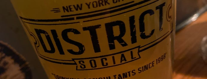District Social is one of Happy Hour Spots.