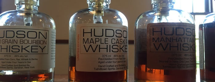 Tuthilltown Spirits is one of A Locavore's Guide to the Hudson Valley.
