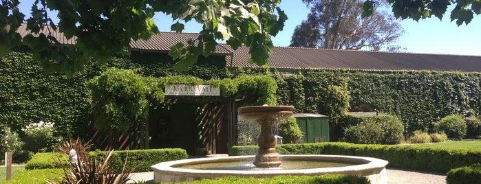 Merryvale Vineyards is one of NAPA VALLEY.