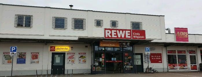 REWE is one of Kreditkartenakzeptanz in Magdeburg.