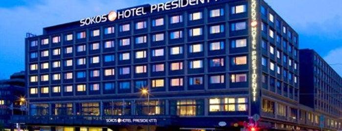 Original Sokos Hotel Presidentti is one of Tempat yang Disimpan Soffy.