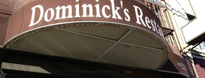 Dominick's Restaurant is one of Beyond Manhattan.