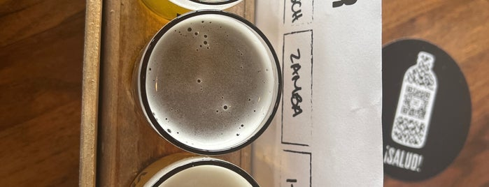 Veza Sur Brewing Co. is one of Wynwood Miami Spots.