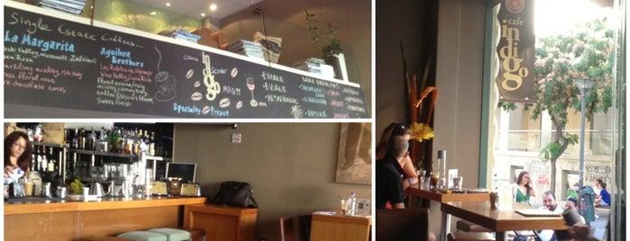 Indigo Cafe is one of Locais curtidos por Kyriaki.