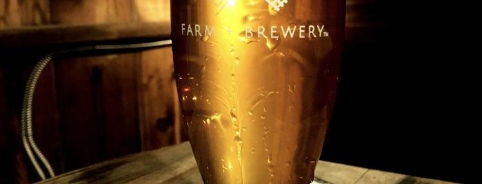 Wheatland Spring Farm + Brewery is one of Lugares favoritos de Amy.