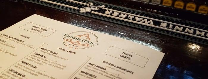 Frank Mac's Pub is one of Lugares favoritos de obLIViousM00d300.