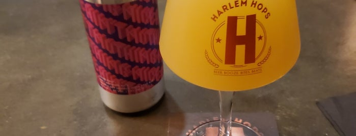 Harlem Hops is one of Bars with Outdoor Space.