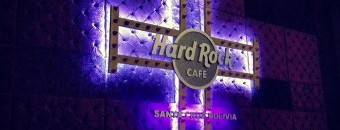 Hard Rock Cafe Santa Cruz is one of pour manger =).
