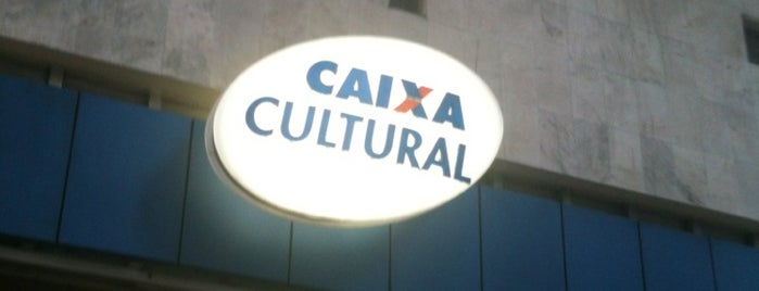 Caixa Cultural is one of Lugares favoritos de Fabiano.