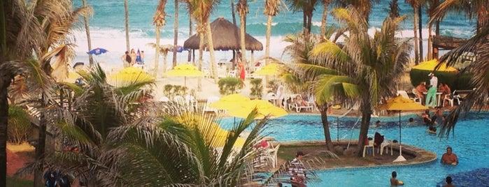 Oceani Beach Park Hotel is one of Lugares favoritos de Allan.