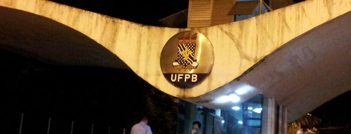 UFPB - Universidade Federal da Paraíba is one of Tempat yang Disukai Mayara.