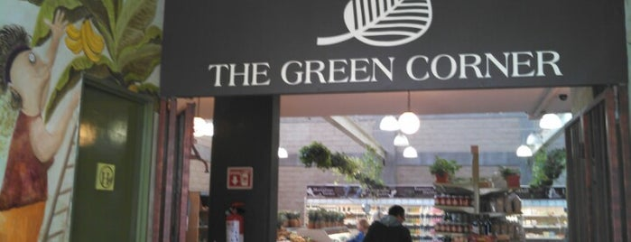 The Green Corner is one of Lugares recomendados.