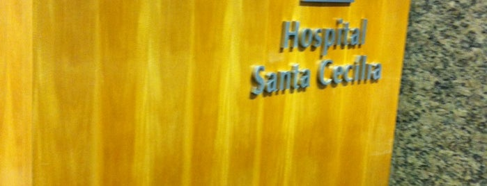 Hospital Santa Cecília is one of Lieux sauvegardés par Sandra.