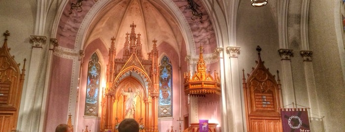 Grace Evangelical Lutheran Church is one of Lugares favoritos de Rob.