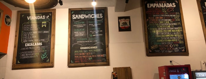 The Stand is one of Sandwich y Ensaladas.