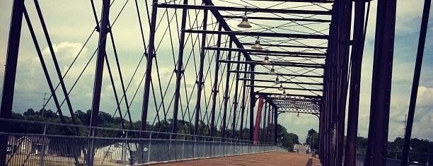 Hays Street Historic Bridge is one of Texas.