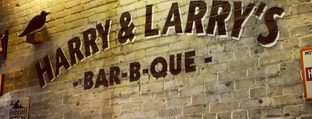Harry & Larry's BBQ is one of must.