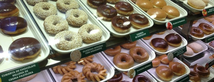 Krispy Kreme is one of Restaurantes.