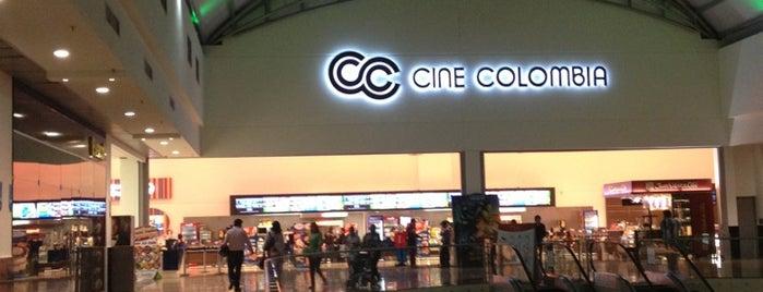 Cine Colombia Cacique is one of Locais curtidos por Vane.