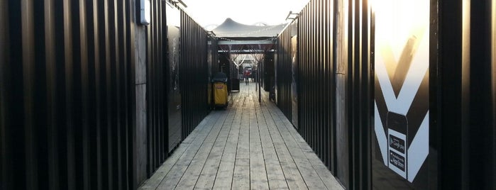 BOXPARK Shoreditch is one of Best Shopping Spots in London.