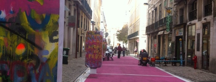 Pink Street is one of Lisbon.