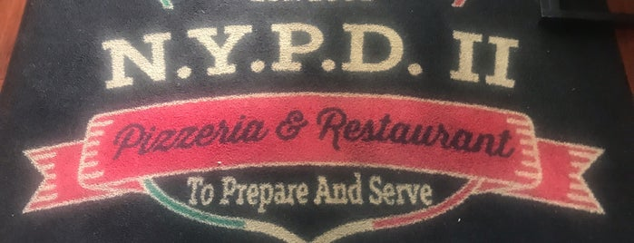 NYPD 2 Pizzeria and Italian Restaurant is one of South Florida.