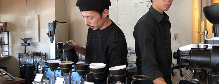 GLITCH Coffee & Roasters is one of Tokyo Craft Coffee.